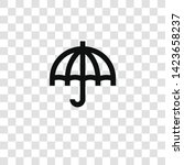umbrella icon from... | Shutterstock .eps vector #1423658237