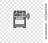 stove icon from  collection for ... | Shutterstock .eps vector #1423663334