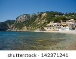 one of the many small beaches... | Shutterstock . vector #142371241