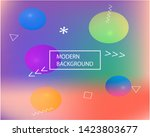 bright blend texture picture.... | Shutterstock .eps vector #1423803677