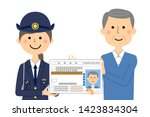 it is an illustration in which... | Shutterstock .eps vector #1423834304