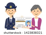 it is an illustration in which... | Shutterstock .eps vector #1423838321