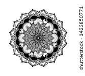 artistic mandala graphic...   Shutterstock . vector #1423850771