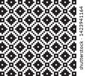pixel jacquard nit pattern...   Shutterstock .eps vector #1423941164