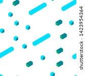 light blue  green vector... | Shutterstock .eps vector #1423954364