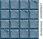 seamless texture of square blue ...