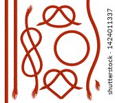 Vector Set Of Ropes  Realistic...