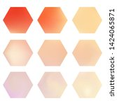 hexagonal gradients kit with...