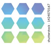 hexagonal gradients kit with...