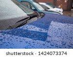 Water Rain Drops On A Car...