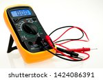 Digital multimeter with probes...