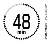 the 48 minutes countdown timer...