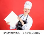 chef author culinary book.... | Shutterstock . vector #1424102087