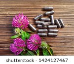 Bunch Of Red Clover Flowers ...