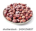peanut snack groundnut heap... | Shutterstock . vector #1424156837