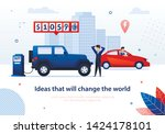 ideas that will change the... | Shutterstock .eps vector #1424178101