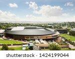Wimbledon Stadium Under Sunny...