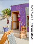 valparaiso   june 09  streets... | Shutterstock . vector #142424641