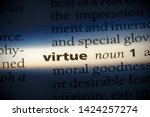 Virtue Word In A Dictionary....