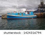 fishing boat dock at the harbor | Shutterstock . vector #1424316794
