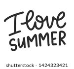 lettering composition. vector... | Shutterstock .eps vector #1424323421