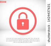 lock vector icon 10 eps   lorem ...