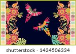colorful hungarian vector... | Shutterstock .eps vector #1424506334