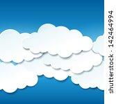 vector seamless illustration of ... | Shutterstock .eps vector #142464994