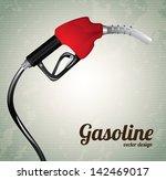 Gasoline Dispenser Over Vintag...