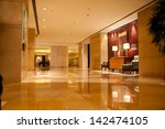 luxury lobby for five stars...   Shutterstock . vector #142474105