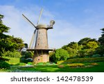 Dutch Windmill In San Francisco