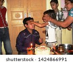 nawalgarh  rajasthan india feb...   Shutterstock . vector #1424866991