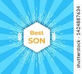 emblem  for best family. best...   Shutterstock . vector #1424887634
