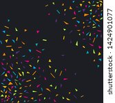 confetti colorful party... | Shutterstock .eps vector #1424901077