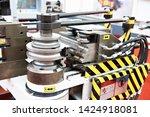 machine for bending metal rods... | Shutterstock . vector #1424918081