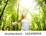 enjoying the sun | Shutterstock . vector #142498909