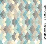 seamless vector geometric... | Shutterstock .eps vector #142500631