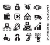 finance icons. vector... | Shutterstock .eps vector #142500955