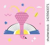 vector illustration of an... | Shutterstock .eps vector #1425063371