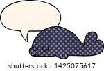 cute cartoon seal with speech... | Shutterstock .eps vector #1425075617