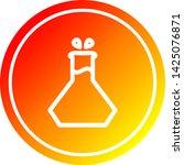 science experiment circular... | Shutterstock .eps vector #1425076871