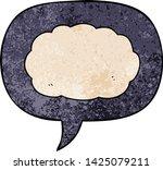 cartoon cloud with speech... | Shutterstock .eps vector #1425079211