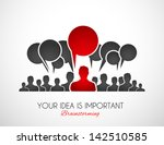 worldwide communication and... | Shutterstock . vector #142510585