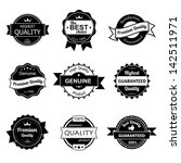 collection of premium quality... | Shutterstock .eps vector #142511971