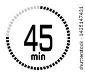 the 45 minutes countdown timer...