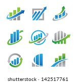 business professional logo... | Shutterstock .eps vector #142517761