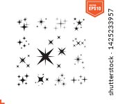 twinkle icon vector template ... | Shutterstock .eps vector #1425233957
