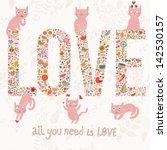 Romantic Valentines Day Card...