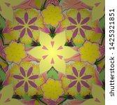 vector seamless floral pattern... | Shutterstock .eps vector #1425321851