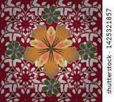 spring vintage floral... | Shutterstock .eps vector #1425321857
